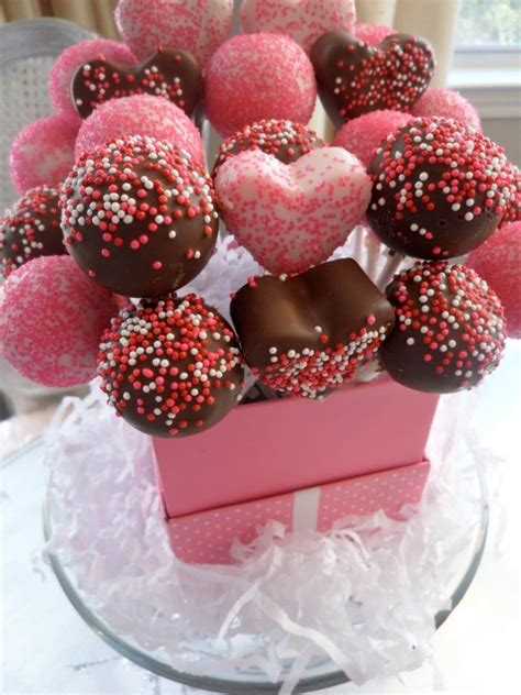 valentines day cake pop cake pops image 3123443 by miss dior on favim