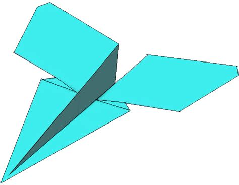 Paper Airplanes Easy - how to fold the simple paper airplane