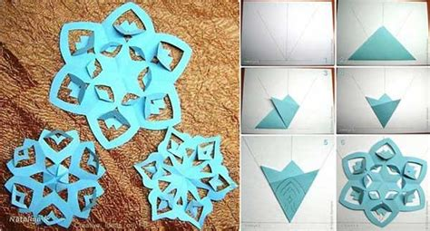 how to make paper snowflakes craft ideas pinterest 45 budget friendly last minute diy christmas decorations