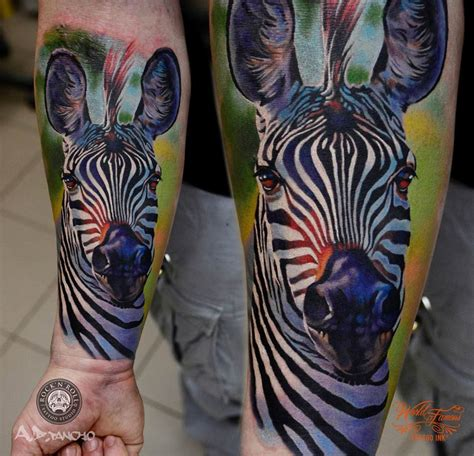 tribal zebra tattoo zebra best design ideas