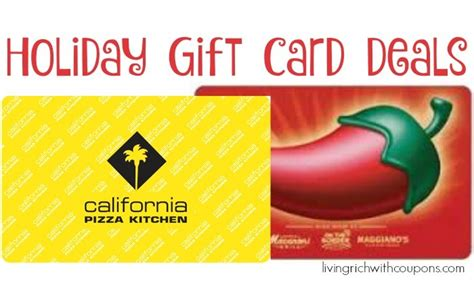 Gift Card Specials 2015 - holiday gift card deals 2015