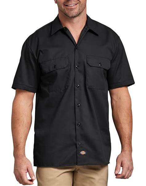 Work Tshirt Black sleeve work shirt mens shirts dickies