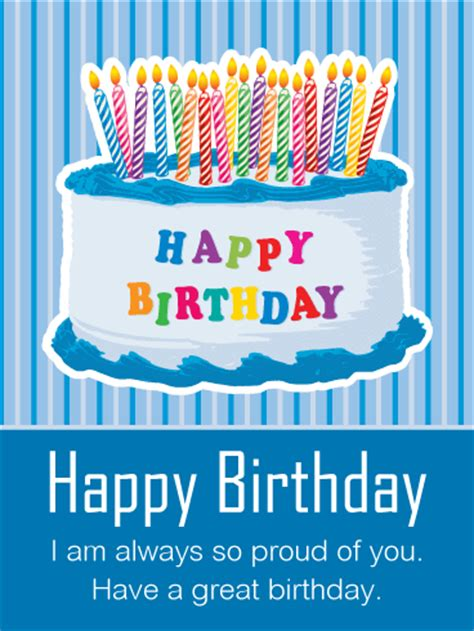 I Like You Birthday Card
