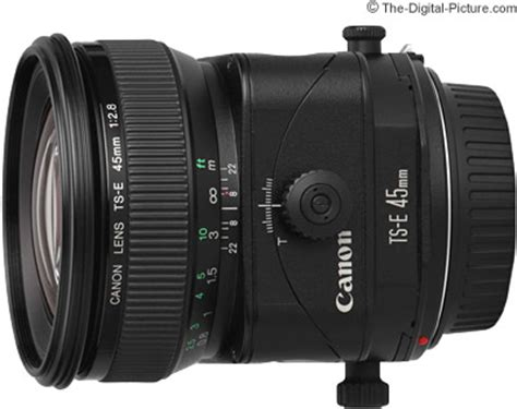 canon ts e 45mm f/2.8 tilt shift lens review