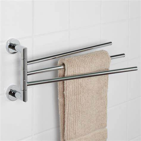 triple swing arm towel bar bristow triple swing arm towel bar towel holders