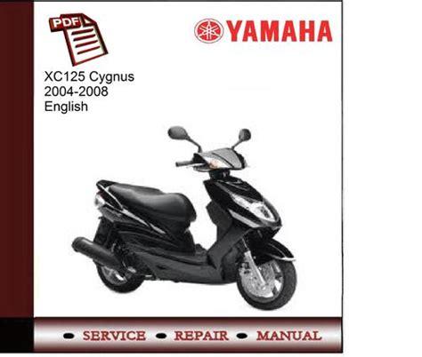 yamaha 125 cygnus x wiring diagrams wiring diagram