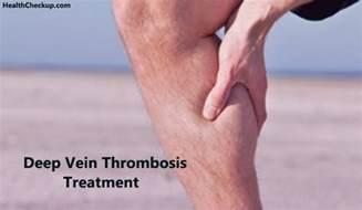 vein thrombosis dvt treatment symptoms and risks