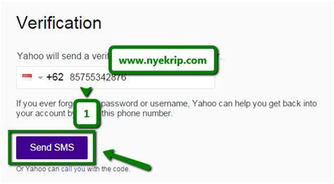 cara membuat email yahoo melalui sms cara membuat email baru lengkap gambar nyekrip