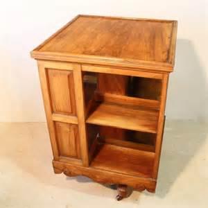 antique revolving bookcase for sale walnut revolving bookcase antiques atlas