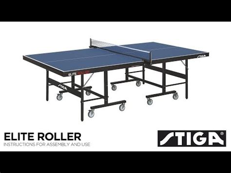 stiga advance table tennis table assembly stiga elite roller ccs advance indoor table tennis table