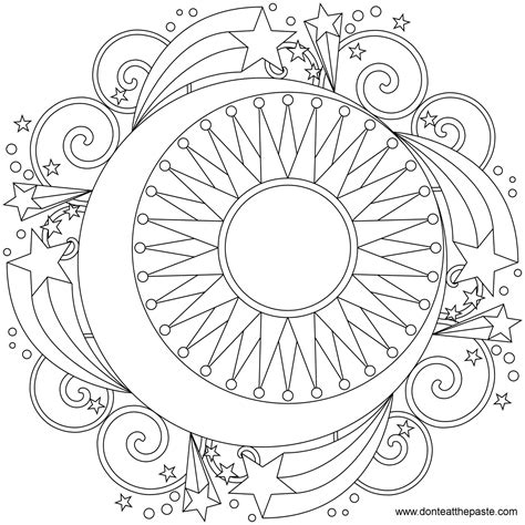 coloring pages of mandala designs free printable mandala coloring pages large transparent