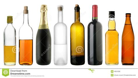 alcoholic drinks bottles bottles of alcoholic drinks royalty free stock image