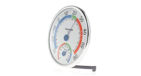 Sanfix Th303a Indoor Thermo Hygrometer 6 67 anymeter th101e indoor outdoor thermo hygrometer white at fasttech worldwide free