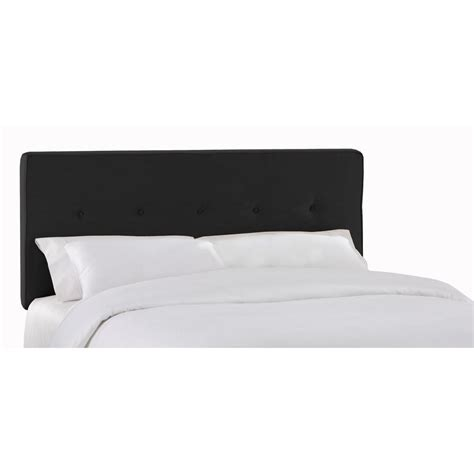 black full headboard soho black full headboard 681pblk the home depot