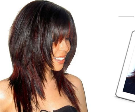 long choppy layered hairstyles inverted bob 58 gorgeous long layered bobs with bangs haircuts