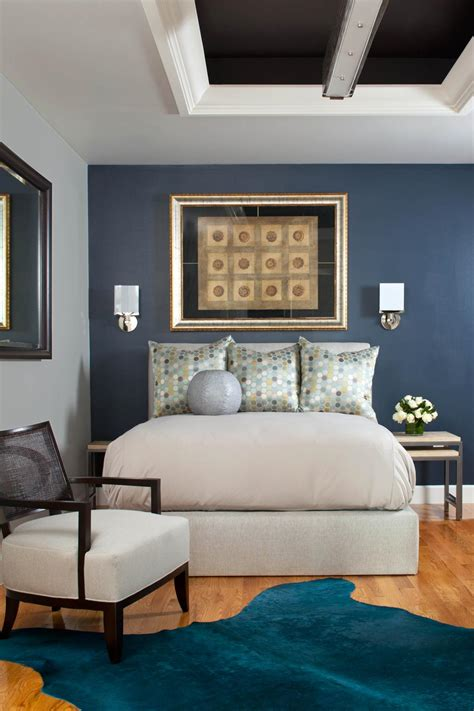 ways  decorate  rich peacock blue hgtv