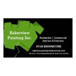 painting business card house painter gifts on zazzle