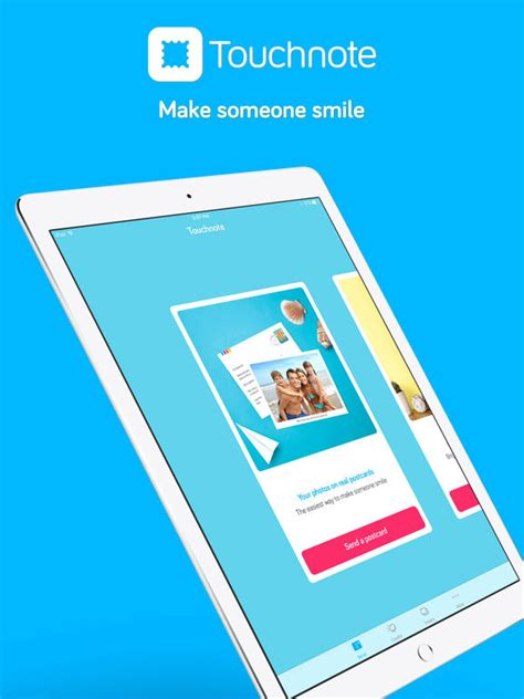 app for greeting cards touchnote the best postcards greeting cards app screenshot