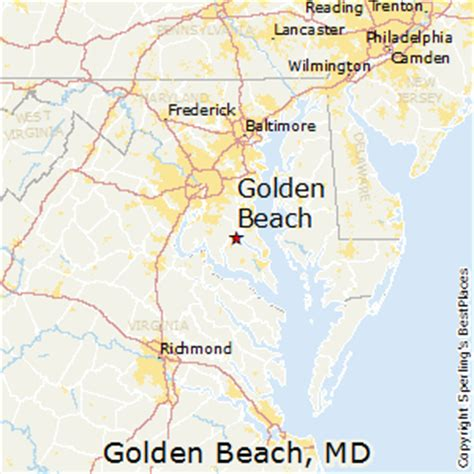 maryland map beaches best places to live in golden maryland