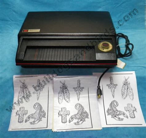 tattoo 2 printer manual 3m transparency maker thermo fax the secretary copier