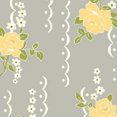 cotton quilt fabric nine dots rose fabric shabby chic gray
