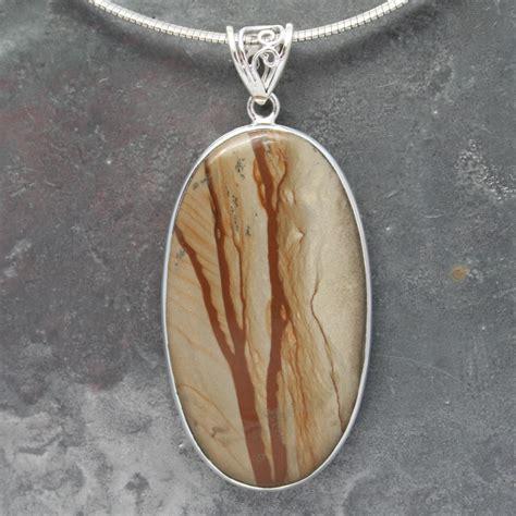 Picture Jasper Pendant picture jasper pendant lumina jewellery