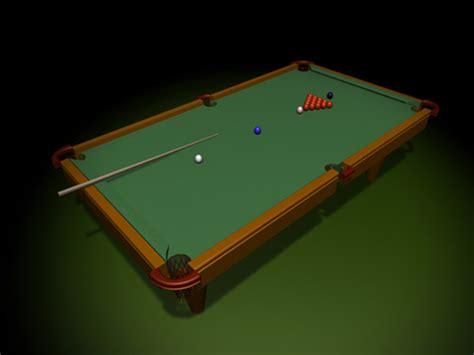 Free Pool Table by Pool Billiard Table Balls Pocket Billiards 3ds 3d