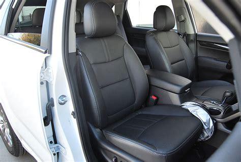 kia sorento leather seats kia sorento 2010 2013 iggee s leather custom fit seat