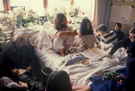 john lennon bed in beatlemania and bed ins when john and yoko came to canada toronto star