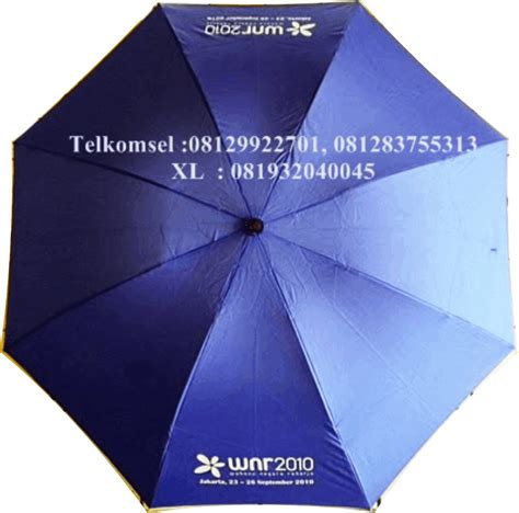 Payung Terbalik Dengan Logo payung golf lipatproduksi payung promosi payung souvenir