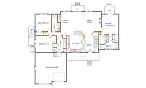 ranch floor plans monmouth county ocean county new 5 bedroom floor plans monmouth county ocean county new