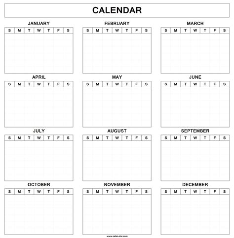 blank yearly calendar template pictures 2018 printable yearly calendar template daily