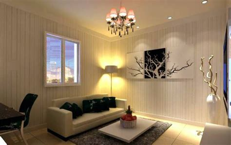 livingroom light 3d rendering of yellow living room lighting interior design