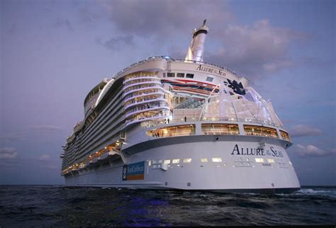 biggest cruise ships behind the scenes of the world s largest cruise ship