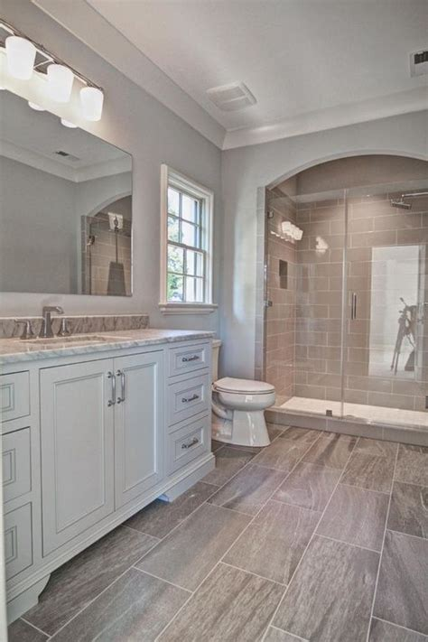 gray and tan bathroom how to add a basement bathroom 27 ideas digsdigs
