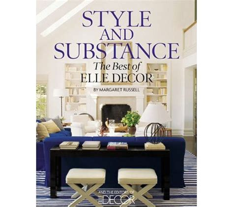 home decor book style and substance the best of elle decor idesignarch