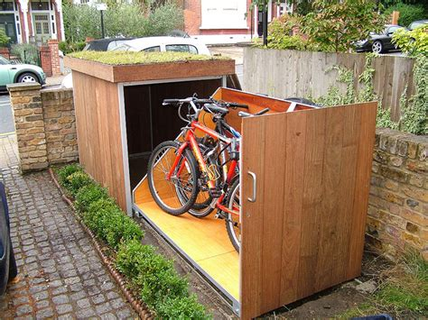 Bike Storage Shed Plans by 21 Secure Bike Shed Ideas From Around The Globe