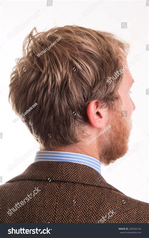 pictures of the back of men heads hair on back mans head studio stock photo 295556144