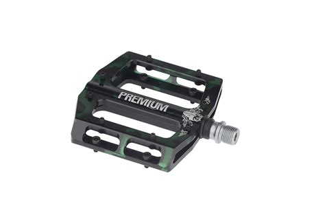 Removable by Premium Bmx Parts Slim Pedal Smoked