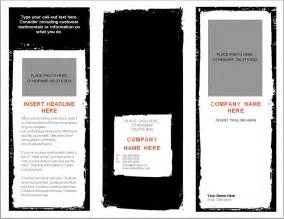 word brochure template brochure templates word