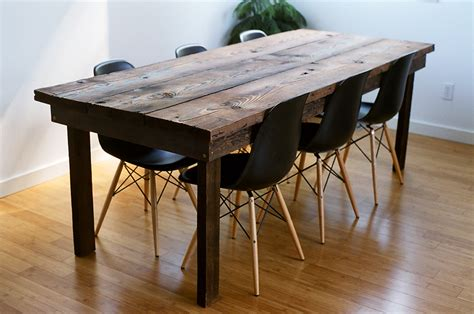 fermata woodworks modern reclaimed furniture in seattle wa