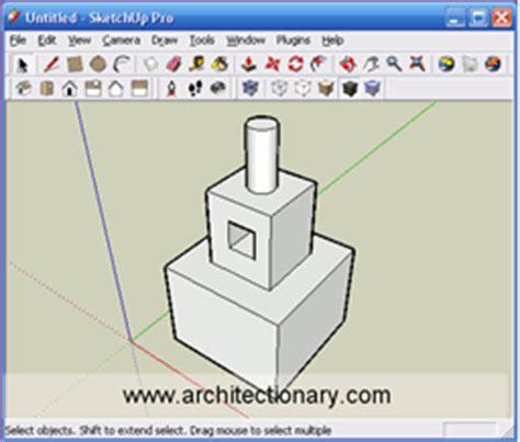 google sketchup basic tutorial sketchup basic principles open media lab