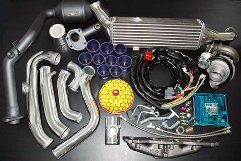 suzuki swift sport hks bolt on turbo kit