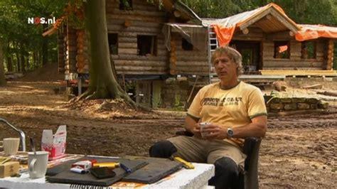 houten huis gertjan verbeek gertjan verbeek bouwt zelf een blokhut bij dalfsen