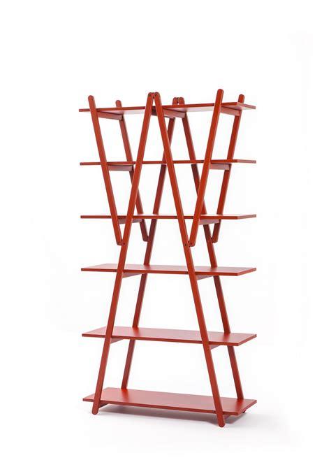 libreria rossa cassina arredamenti rosso icone gio ponti vico