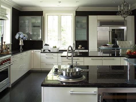 Black White Kitchen Ideas by 40 Beautiful Black And White Kitchen Designs Gosiadesign Com