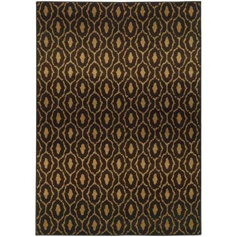 12 x 10 area rug 10x13 black all diamonds swirls area rug sphinx