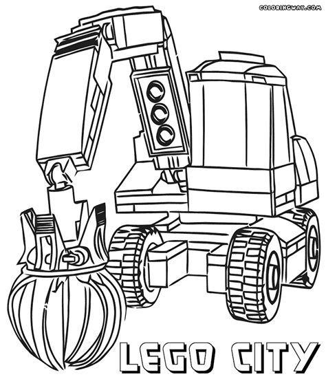 coloring page lego city lego city coloring pages coloring pages to download and