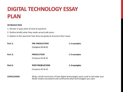 Introduction Technology Essay by Introduction Of An Essay About Technology