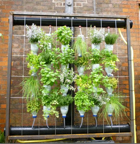 Vertical Garden Herbs Keeping Up With The Joneses Vertical Gardens